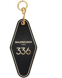 Balenciaga - Llavero Hotel Key Tag - Lyst