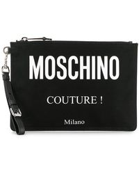 Moschino - ' Couture!' Clutch - Lyst
