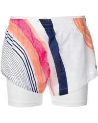 Nike - Multicolour Striped Shorts - Lyst