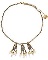 Camila Klein - Embellished Pendants Necklace - Lyst