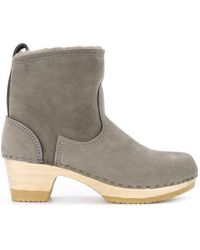 "No. 6 - 5"" Pull On Shearling Clog Boot - Lyst"