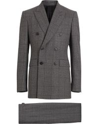 df9fb6389cb1 Burberry Slim Fit Prince Of Wales Check Wool Silk Suit in Gray for ...