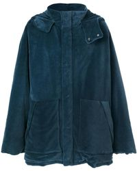 Yeezy - Velour Puffer Jacket - Lyst