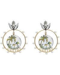 Anton Heunis - Desire Swarovski Crystal Earrings - Lyst