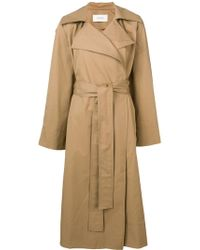 Pringle of Scotland - Oversized Trench Coat - Lyst