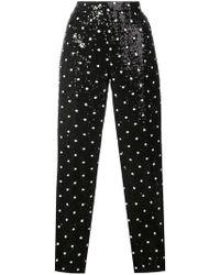 Giambattista Valli - Sequinned Straight-leg Pants - Lyst