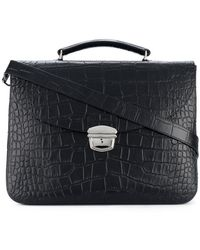 Orciani - Classic Top-handle Briefcase - Lyst