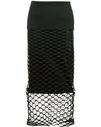 Dion Lee - Honeycomb Cut-out Skirt - Lyst