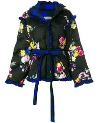 Preen By Thornton Bregazzi - Floral Puffer Jacket - Lyst