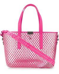 Off-White c/o Virgil Abloh Netted Shopper Bag - Pink