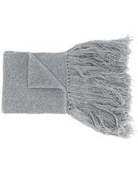 Lanvin - Tassel-trimmed Scarf - Lyst