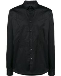 Diesel Black Gold - Embroidered Shirt - Lyst