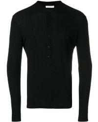 Paolo Pecora - Long Sleeve Polo Shirt - Lyst