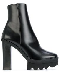 f321f3cd287 Stella McCartney Monster Boots in Black - Lyst