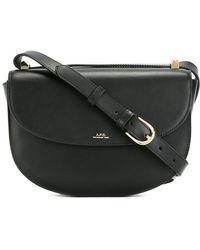 A.P.C. - Crossbody Saddle Bag - Lyst