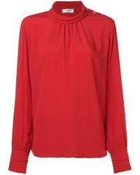 Mauro Grifoni - High Neck Blouse - Lyst