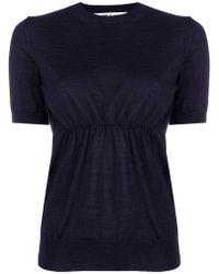 Comme des Garçons - Short Sleeve Knitted Top - Lyst