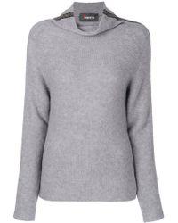 Jo No Fui - Roll Neck Stripe Sweater - Lyst