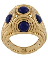 Aurelie Bidermann - 'Azzura' Ring - Lyst