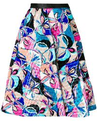 Emilio Pucci - A-line Quilted Skirt - Lyst