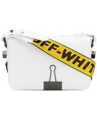 Off-White c/o Virgil Abloh - Binder Clip Crossbody Bag - Lyst