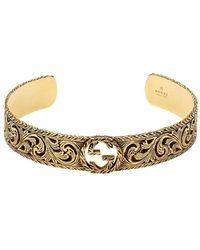 Gucci Geelgouden Armband - Metallic