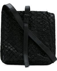 Osklen - Pirarucu Leather Crossbody Bag - Lyst