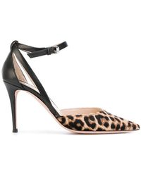 PS by Paul Smith - Pointed Leopard Court Shoes - Lyst