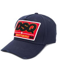 63d9e5aa9e0 Lyst - DSquared² No Mercy Patch Baseball Cap in Green for Men