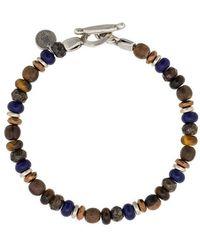 Eleventy - Armband mit Perlen - Lyst