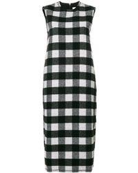 Peter Jensen - Sleeveless Check Dress - Lyst