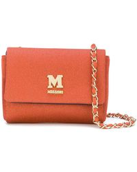 M Missoni - Chain Strap Shoulder Bag - Lyst