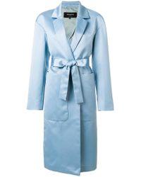 Rochas | Silky Robe Coat | Lyst