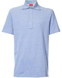 Isaia - Slim Fit Polo Shirt - Lyst