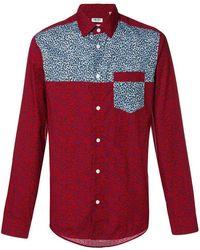 Comme des Garçons. Leopard Print Shirt.  574. Farfetch · KENZO - Red Leopard  Patched Shirt - Lyst 05a402701