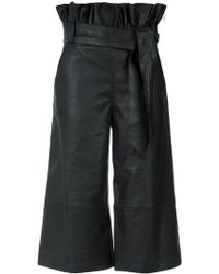 Olympiah - Wide Leg Cropped Trousers - Lyst