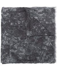 John Varvatos - Abstract Pattern Scarf - Lyst