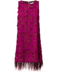 Ainea - Sleeveless Embroidered Dress - Lyst