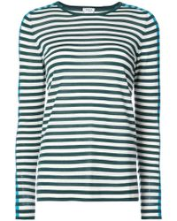 Akris Punto - Striped Longsleeved T-shirt - Lyst