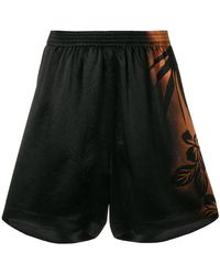 Maison Margiela - Floral Gradient Fitted Shorts - Lyst