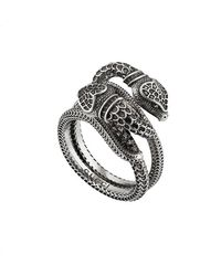 Gucci - Garden Snakes Ring - Lyst