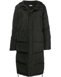 Ganni - Hooded Puffer Coat - Lyst