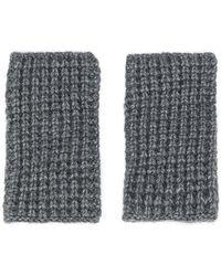 Barena - Knitted Non-finger Gloves - Lyst