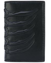 Alexander McQueen - Textured Wallet - Lyst