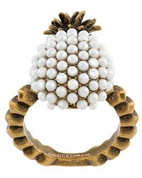 Gucci - Pineapple Ring - Lyst