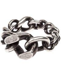 Werkstatt:münchen Mixed Chain Ring - Metallic