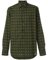 Prada - Floral Printed Shirt - Lyst