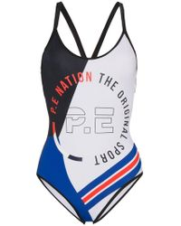 P.E Nation - Penton Swimsuit - Lyst