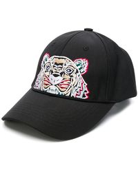 a7e2d6e20a8 Lyst - KENZO Multi Icon Baseball Cap in Black