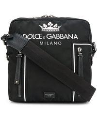 Dolce & Gabbana Messenger Bag For Men On Sale